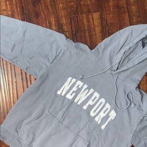 Newport Blue Hoodie
